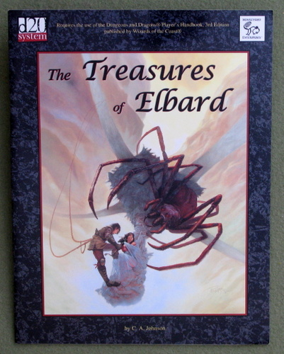 Image for Treasures of Elbard (Dungeons & Dragons: D20 system)