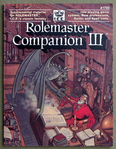 Image for Rolemaster Companion III