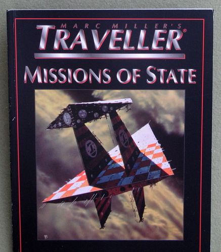 Image for Missions of State (Marc Miller's Traveller - T4)