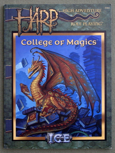 Image for College of Magics (HARP: High Adventure Role Playing)