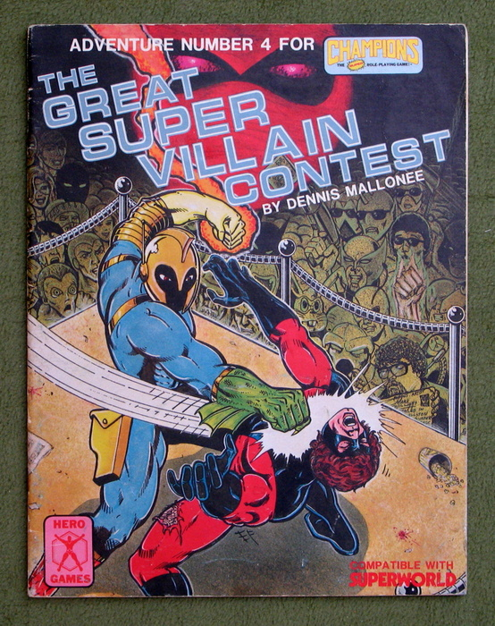 Image for The Great Super Villain Contest (Adventure Number 4 for Champions) - PLAY COPY