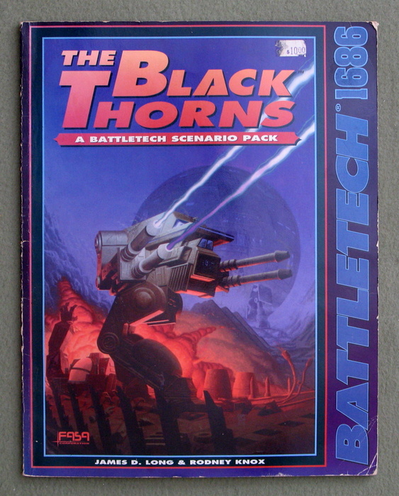 Image for The Black Thorns: A BattleTech Scenario Pack - PLAY COPY