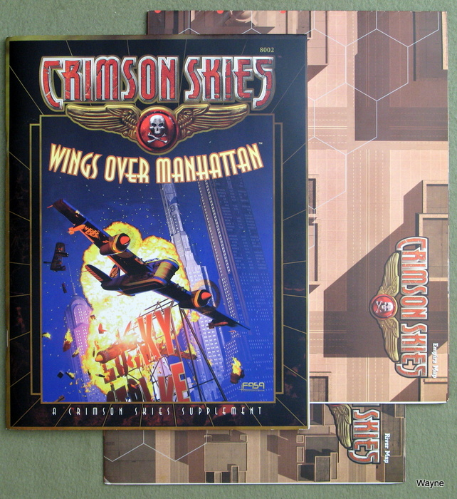 Image for Crimson Skies: Wings Over Manhattan