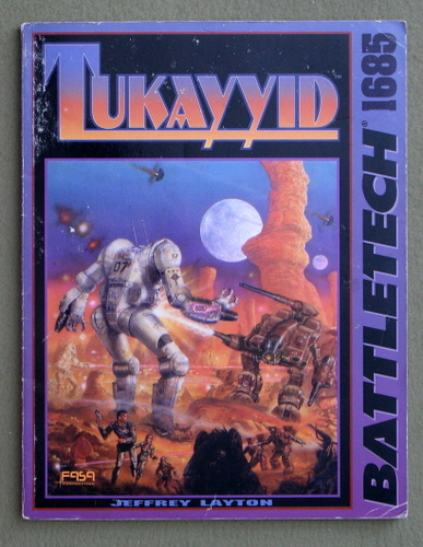 Image for Tukayyid (Battletech)