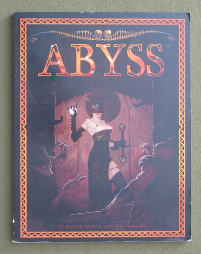 Image for Abyss: A Roleplaying Game Based on Dante's Inferno