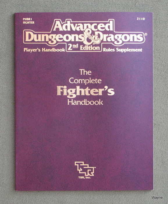 Image for Complete Fighter's Handbook (Advanced Dungeons & Dragons, 2nd Edition)