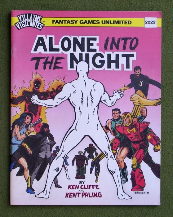 Image for Alone Into the Night (Villains and Vigilantes)