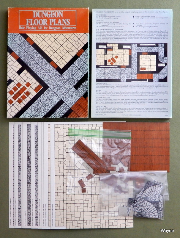 Image for Dungeon Floor Plans: Role-Playing Aid for Dungeon Adventures