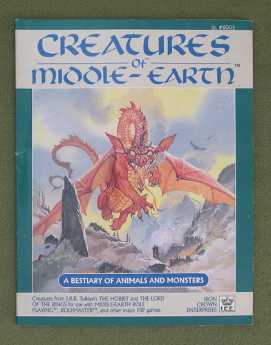 Image for Creatures of Middle-Earth (Middle Earth Role Playing)