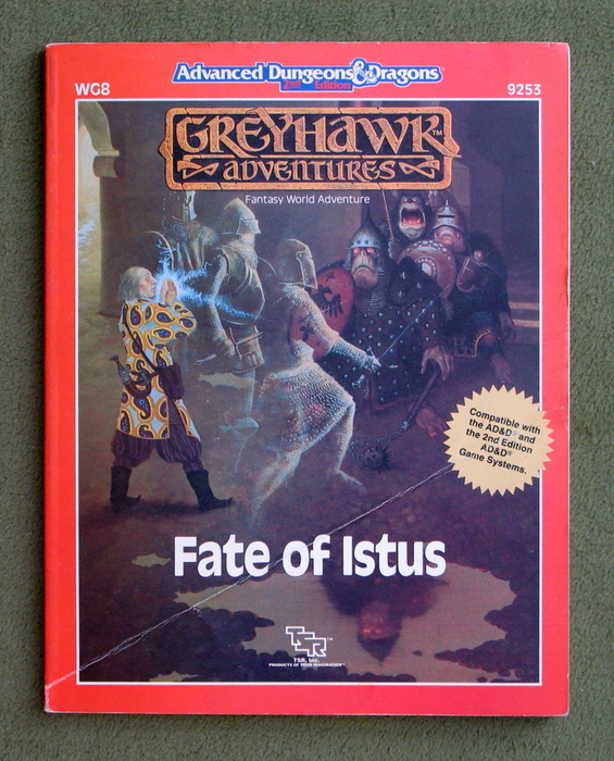 Image for Fate of Istus (Advanced Dungeons & Dragons/Greyhawk module WG8)