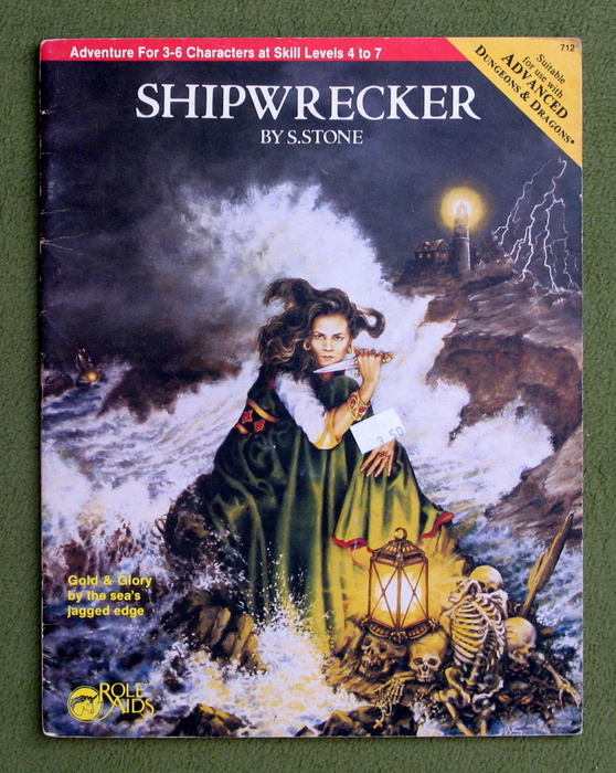 Image for Shipwrecker (Advanced Dungeons and Dragons / Role Aids)