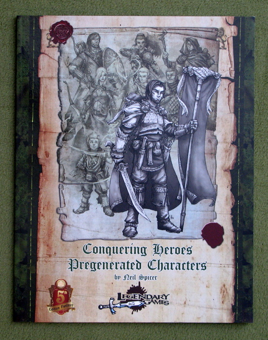 Image for Conquering Heroes Pregenerated Characters (Dungeons & Dragons, 5th Edition)