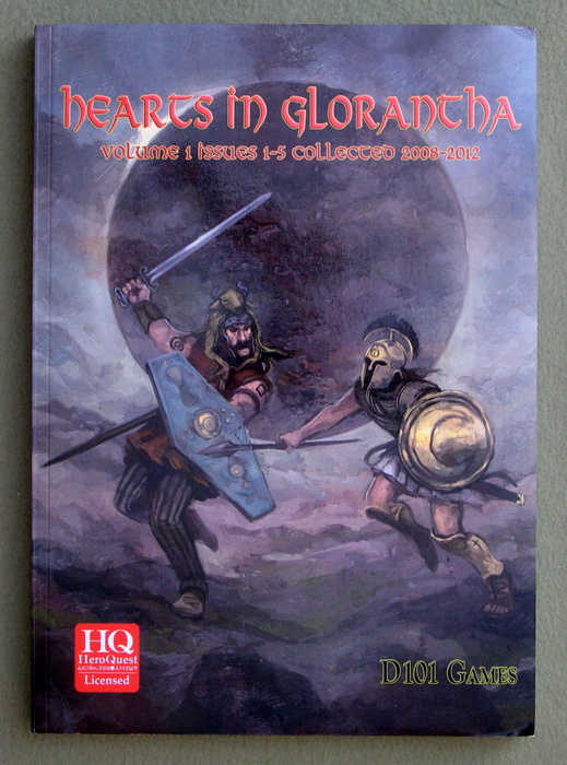 Image for Hearts In Glorantha: Volume 1 Issues 1-5 Collected 2008-2012 (RuneQuest/HeroQuest)