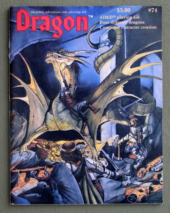 Image for Dragon Magazine, Issue 74