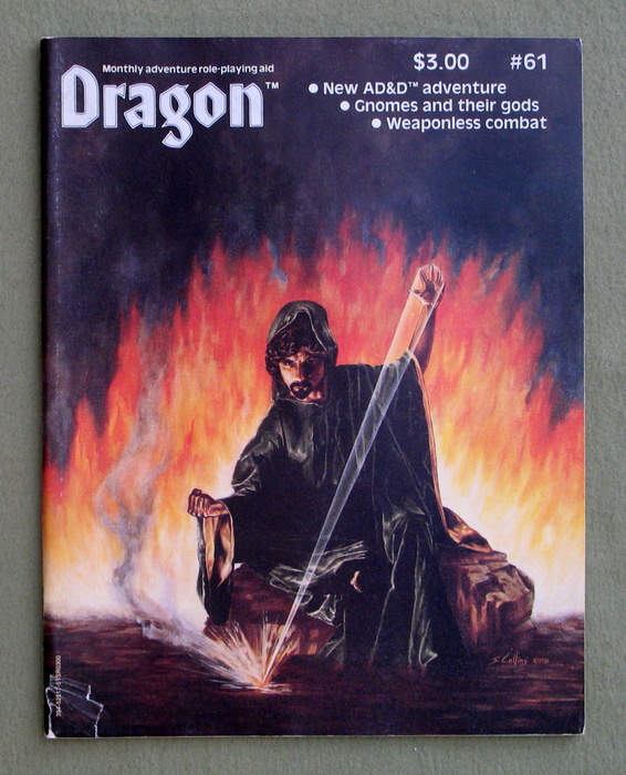 Image for Dragon Magazine, Issue 61