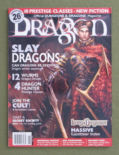 Image for Dragon Magazine, Issue 296