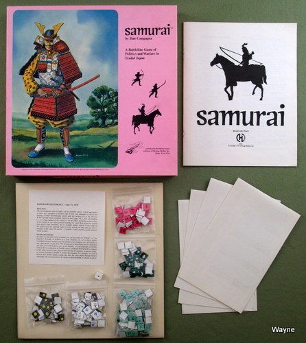 Image for Samurai: A Battleline Game of Politics and Warfare in Feudal Japan