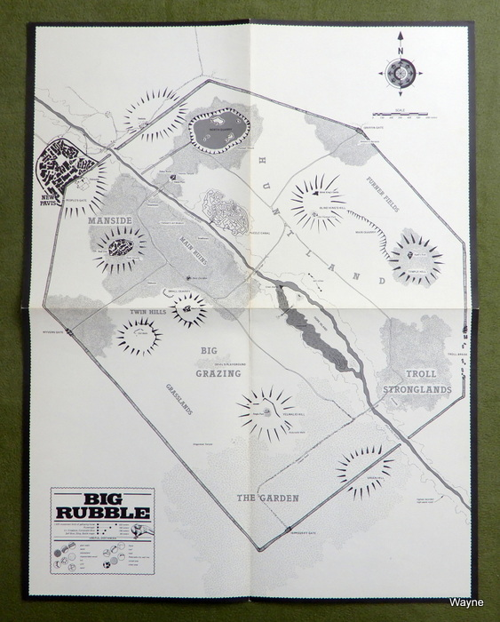 Image for Big Rubble Poster Map (Runequest)