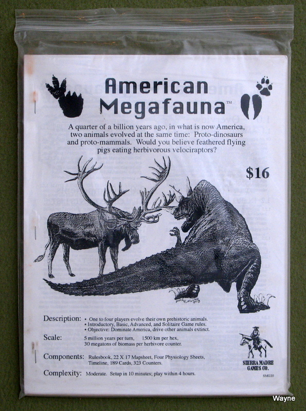 Image for American Megafauna: Game