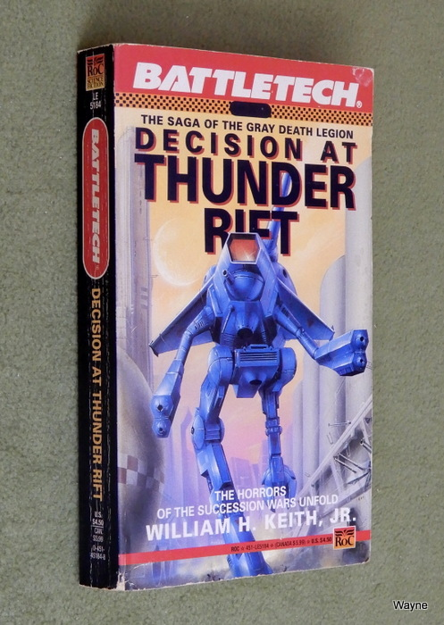 Image for Decision at Thunder Rift (Battletech, No 6)