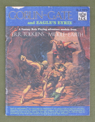 Image for Goblin Gate and Eagle's Eyrie (MERP) - PLAY COPY