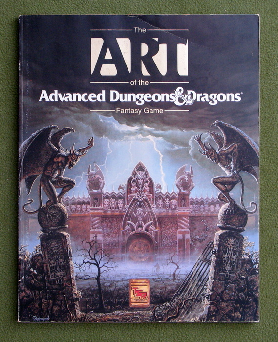 Image for The Art of the Advanced Dungeons & Dragons Fantasy Game