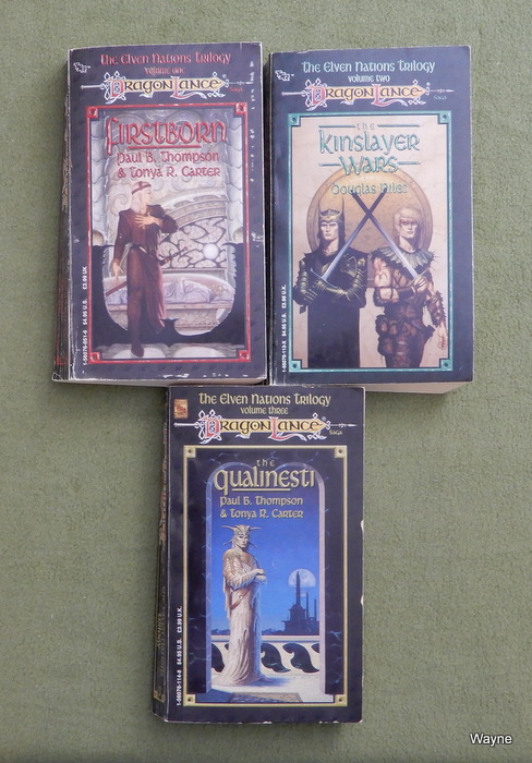 Image for DragonLance Elven Nations Trilogy: 1. The Kinslayer Wars – 2. Firstborn – 3. The Qualinesti
