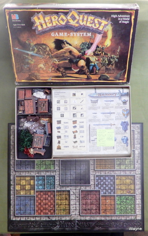 Image for HeroQuest Game System - INCOMPLETE