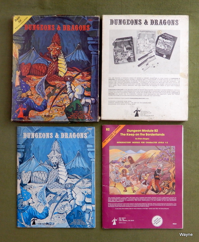 Image for Dungeons and Dragons Basic Set - PLAY SET