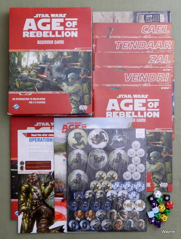 Image for Star Wars Age of Rebellion Beginner Game (Star Wars Role Playing Game)