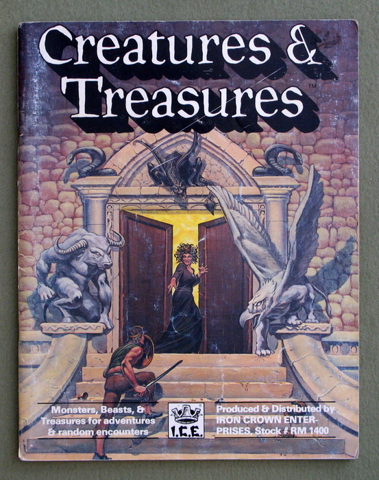 Image for Creatures and Treasures (Rolemaster) - PLAY COPY