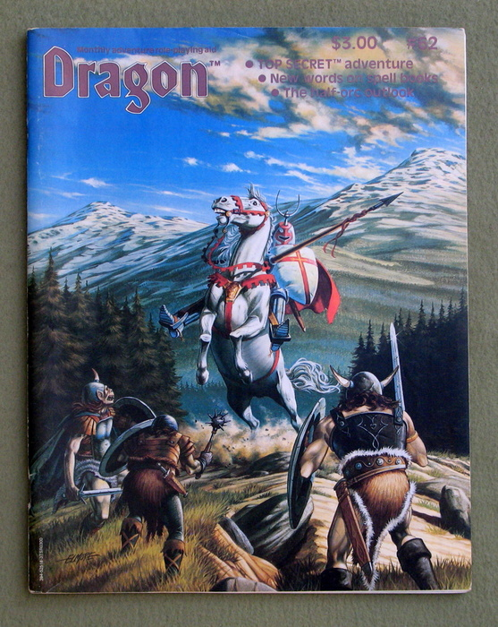 Image for Dragon Magazine, Issue 62