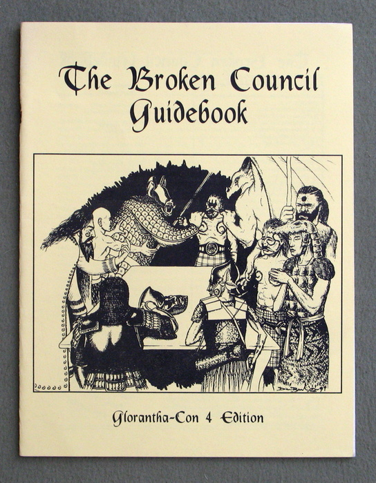 Image for The Broken Council Guidebook (Glorantha Con 4 Edition)