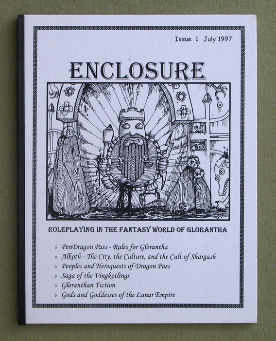 Image for Enclosure, Issue 1 (Roleplaying in the Fantasy World of Glorantha)