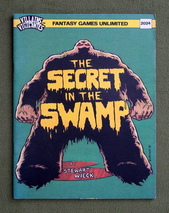 Image for Secret in the Swamp (Villains and Vigilantes)