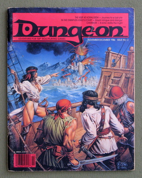 Image for Dungeon Magazine, Issue 2 - LOOSE COVER