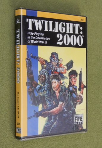 Image for Twilight: 2000 v2.2 (The Canon on CD-ROM)