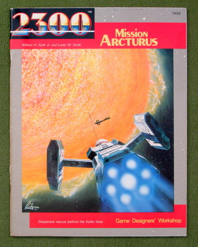 Image for Mission Arcturus (2300AD role playing game)