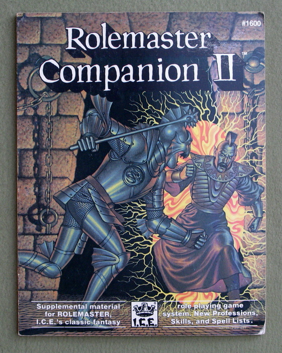 Image for Rolemaster Companion II - PLAY COPY