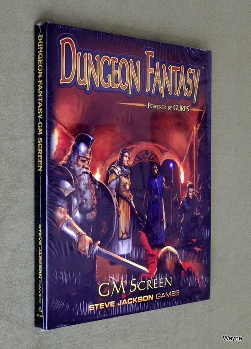 Image for Dungeon Fantasy RPG: Game Master Screen