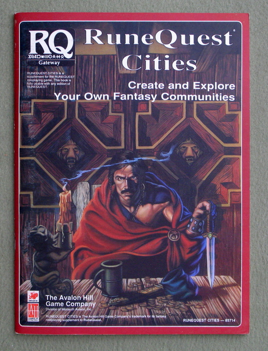 Image for Runequest Cities: Create and Explore Your Own Fantasy Communities