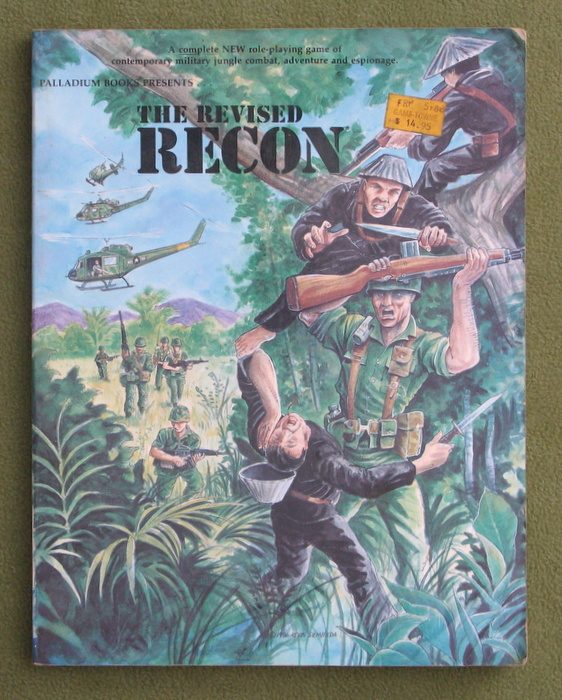 Image for Revised Recon: Roleplaying Game - PLAY COPY