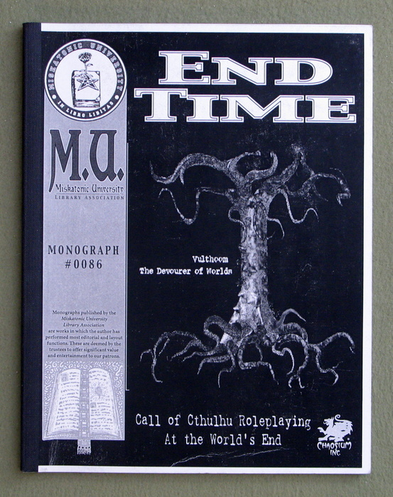Image for End Time (Call of Cthulhu Monograph)