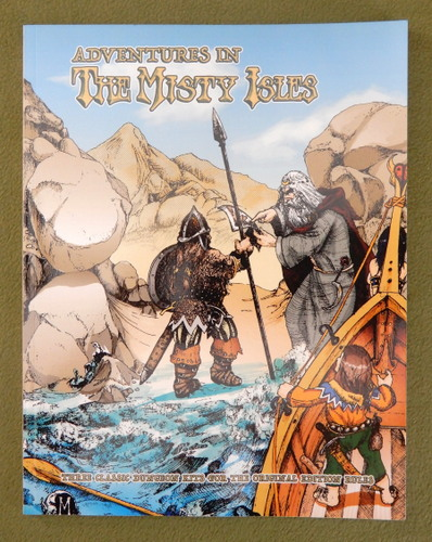 Image for Adventures in the Misty Isles: Three Classic Dungeon Kits (Wee Warriors Classic Reprint)