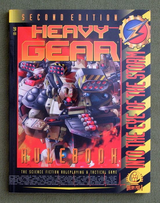 Image for Heavy Gear Rulebook, 2nd Edition