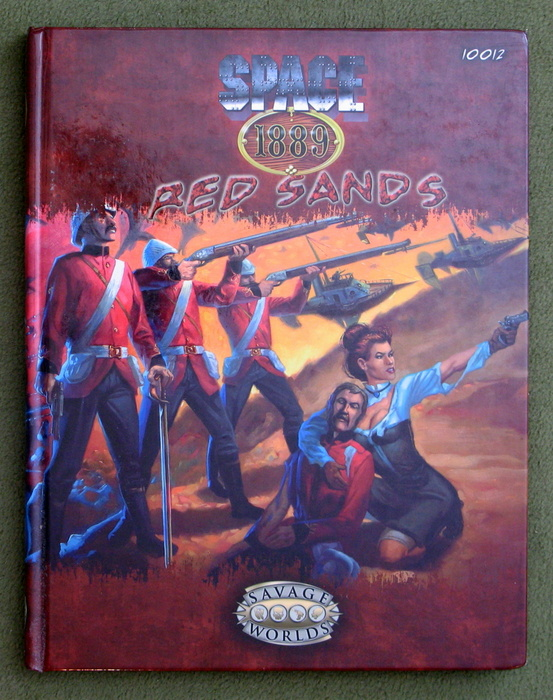 Image for Space 1889: Red Sands (Savage Worlds)