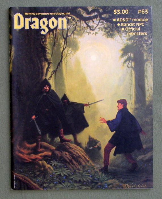 Image for Dragon Magazine, Issue 63