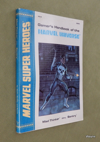 Image for Gamer's Handbook of the Marvel Universe: Mad Thinker thru Sentry (Marvel Super Heroes accessory MU3)