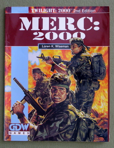Image for Merc: 2000 (Twilight: 2000 campaign book)