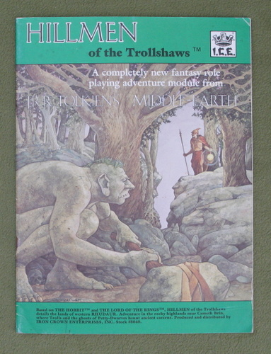 Image for Hillmen of the Trollshaws (Middle Earth Role Playing)